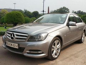 2013 Mercedes Benz C-Class C 220 CDI Elegance AT in New Delhi