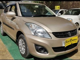 2012 Maruti Swift Dzire LXI Petrol MT for sale in Faridabad
