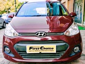 2016 Hyundai Grand i10 SPortz Petrol MT for sale in Faridabad