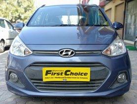 2016 Hyundai Grand i10 1.2 CRDI SPortz Petrol MT for sale in Faridabad