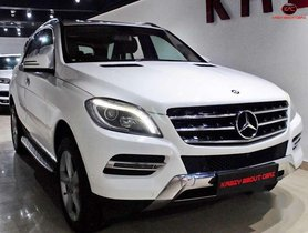 2015 Mercedes Benz M Class AT for sale in Jaipur