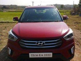 Used Hyundai Creta 1.6 SX 2015 MT for sale in Hyderabad