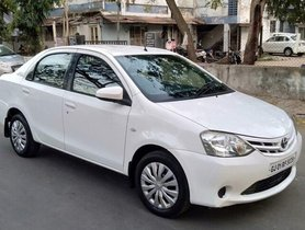 Used 2014 Toyota Etios Liva G MT for sale in Ahmedabad