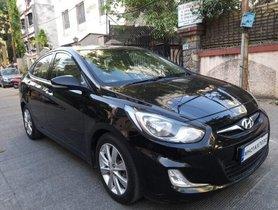 Used 2011 Hyundai Verna CRDi SX MT for sale in Pune