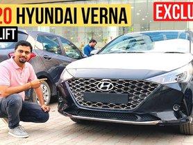 2020 Hyundai Verna Facelift Arrives At Dealerships Near You
