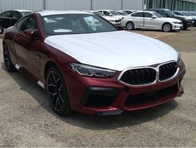 BMW M8 Coupe and 8-series Gran Coupe spied in India
