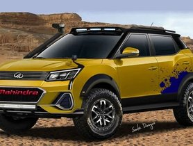Check Out Digitally Created Offroad-spec Modified Mahindra XUV300