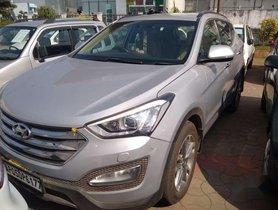 2017 Hyundai Santa Fe AT for sale in Hyderabad