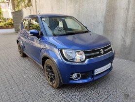 2019 Maruti Ignis 1.2 AMT Zeta BSIV AT for sale in Mumbai