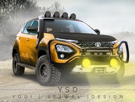 Tata Harrier Digitally Modified To A Ravishing Offroader