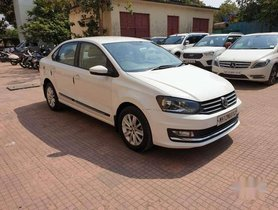 Used Volkswagen Vento 2015, Petrol AT for sale in Mumbai