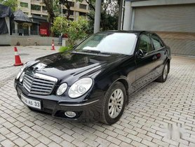 Used Mercedes Benz E Class 2009 AT for sale in Thane