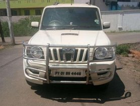 Used Mahindra Scorpio VLX 2012 MT for sale in Pondicherry