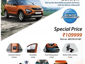 Tata Harrier Pro Edition Package Can Help You Spice Up the Pre-facelift Version