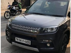 This Land Rover-inspired Modified Maruti Brezza Looks Classier Than Facelift