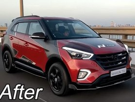 Here's India's First N-Line-inspired Modified Hyundai Creta