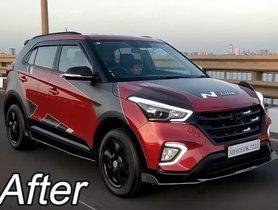 Here's India's First N-Line-inspired Modified Hyundai Creta