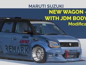Super-Low Maruti WagonR With Wide Bodykit Created Digitally