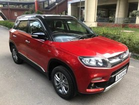 Maruti Suzuki Vitara Brezza ZDi Plus Dual Tone 2018 MT in New Delhi