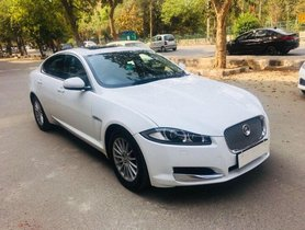 Used 2013 Jaguar XF Diesel AT for sale in New Delhi