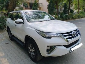 Used 2017 Toyota Fortuner 4x2 AT for sale in New Delhi