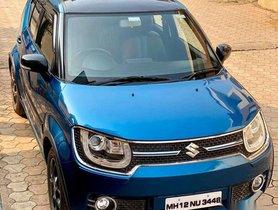 Used 2017 Maruti Suzuki Ignis MT for sale in Kolhapur