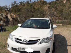 Used 2012 Toyota Corolla Altis MT for sale in Patiala