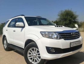 Toyota Fortuner 2014 AT for sale in Ahmedabad