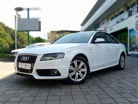 Used Audi A4 2.0 TDI Multitronic 2011 AT in Thane