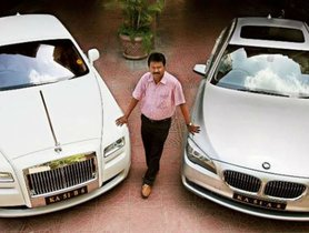 Here's an Indian Barber Who Owns a Rolls Royce!