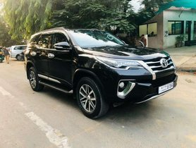 Used Toyota Fortuner 2017, Diesel AT for sale in Ahmedabad