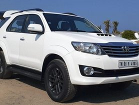 Used 2016 Toyota Fortuner 4x2 AT for sale in Chennai