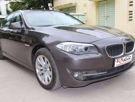 BMW 5 Series 520d Luxury Line, 2012, Diesel AT in Ahmedabad