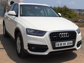 2013 Audi Q3 2012-2015 AT for sale in Chennai
