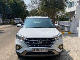 Used Hyundai Creta 2018 MT for sale in Hyderabad
