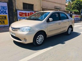 Used Toyota Etios G, 2011, Petrol MT for sale in Ahmedabad
