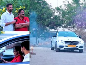 Son Gifts a Mercedes C-Class to Dad - Happiness Galore