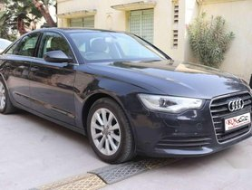 Audi A6 2.0 TDI Premium, 2012, Diesel AT for sale in Ahmedabad