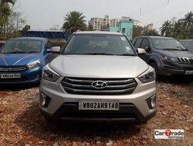 Used 2015 Hyundai Creta 1.6 CRDi SX Plus AT for sale in Kolkata