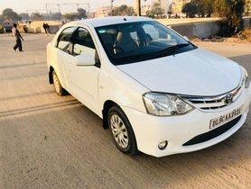 2011 Toyota Platinum Etios G MT for sale in New Delhi