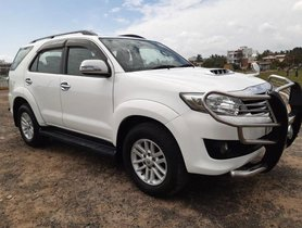 2014 Toyota Fortuner 4x2 AT for sale in Chennai