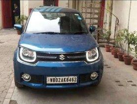 Used 2017 Maruti Suzuki Ignis 1.2 Alpha AT for sale in Kolkata