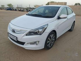 Used 2015 Hyundai Verna 1.6 CRDi SX MT for sale in Ahmedabad