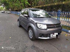 Maruti Suzuki Ignis 1.2 Amt Delta, 2017, Petrol AT for sale in Kolkata