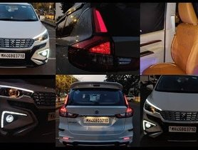 Here's an Uber Cool Modified Maruti Ertiga You Should Surely Check Out