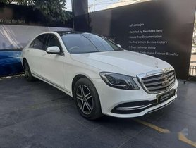 Used Mercedes Benz S Class 2018 AT for sale in Hyderabad
