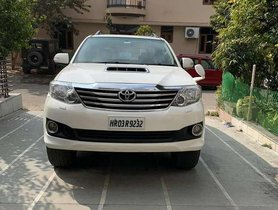 2014 Toyota Fortuner 4x2 Manual MT for sale in Chandigarh