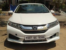 Used Honda City S 2014 MT for sale in Hyderabad