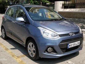 Hyundai Grand i10 1.2 Kappa Sportz Option 2014 MT in Mumbai