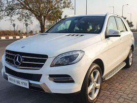 Used 2014 Mercedes Benz M Class AT for sale in Mira Road
